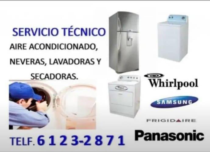 reparación de neveras  lavadoras secadoras aires acondicionado